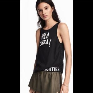 """Divided """"Hola Chica"""" sleeveless top 10"""